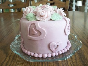 Aunt Betty's Birthday Cake