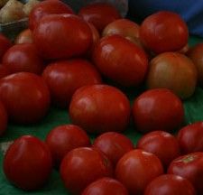 Home grown tomatoes.