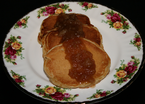 A bed and breakfast recipe, Apple Pancakes