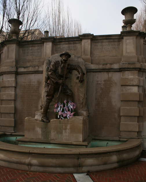 A tribute to the veterans of the First World War.
