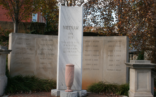 Vietnam Memorial at Monument Terrace