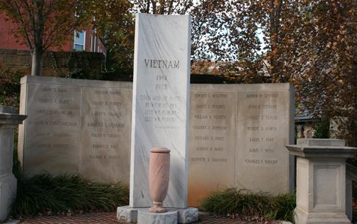 Vietnam Memorial at Monument Terrace