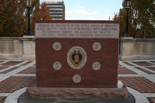 Purple Heart Monument