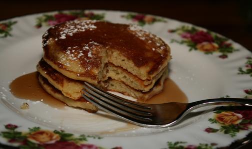 Bed and breakfast recipe for Lemon Ricotta Pancakes