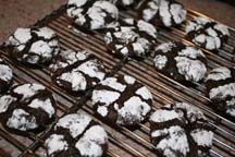 Bed and breakfast recipe for Chocolate Mint Cookies