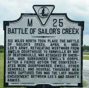 Last major battle of Civil War
