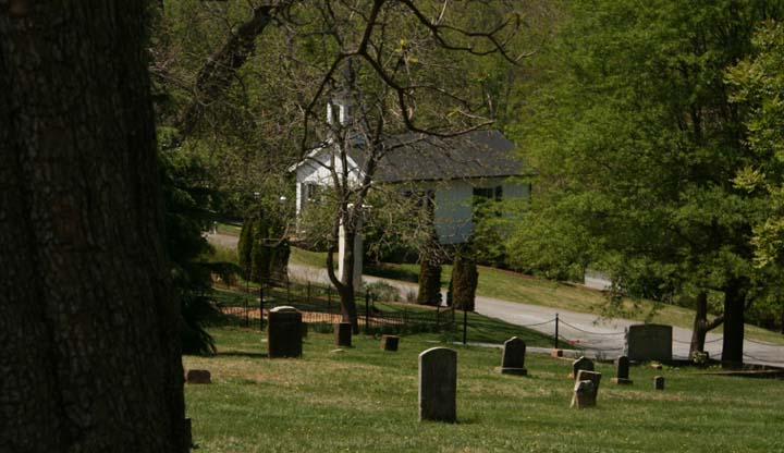 Old City Cemetery Chapel
