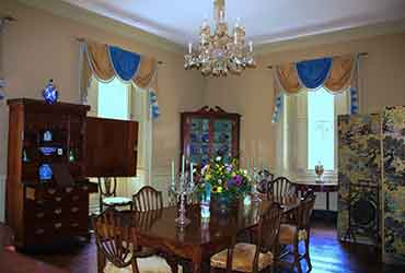 Dining Room at Berkeley Plantation