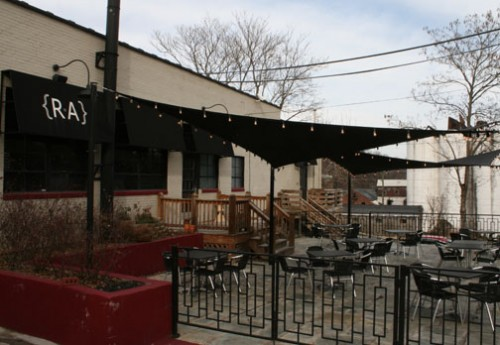 RA Bistro outdoor dining