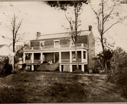 The McLean House at Appomattox Courthouse is where Lee surrendered to Grant to end the Civil War