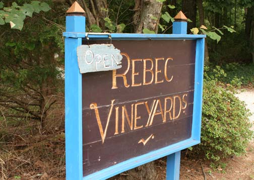 Welcome to Rebec Vineyards
