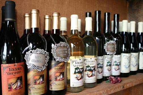 Rebec Vineyards has a wine for everyone!