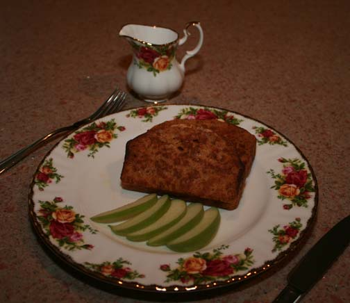Ginger Pumpkin French Toast
