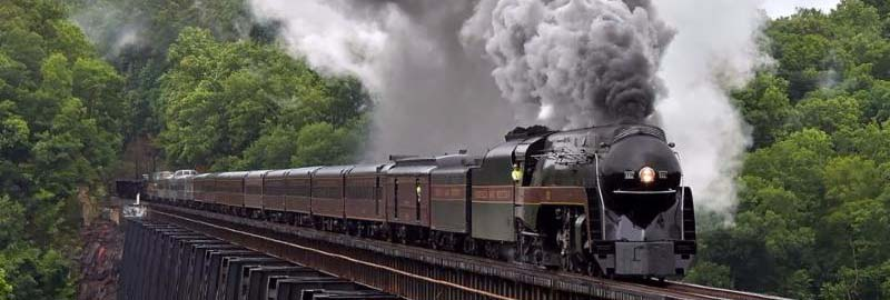611 steam Train