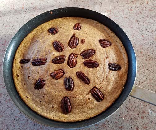 Souffled Pumpkin Pancake