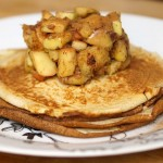 Apple-Cinnamon Pancakes