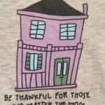 T-Shirt Happy House Graphic