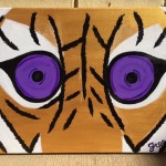 tiger eye acrylic