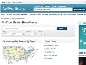 Rentals on Aol Real Estate