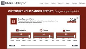 customize danger report