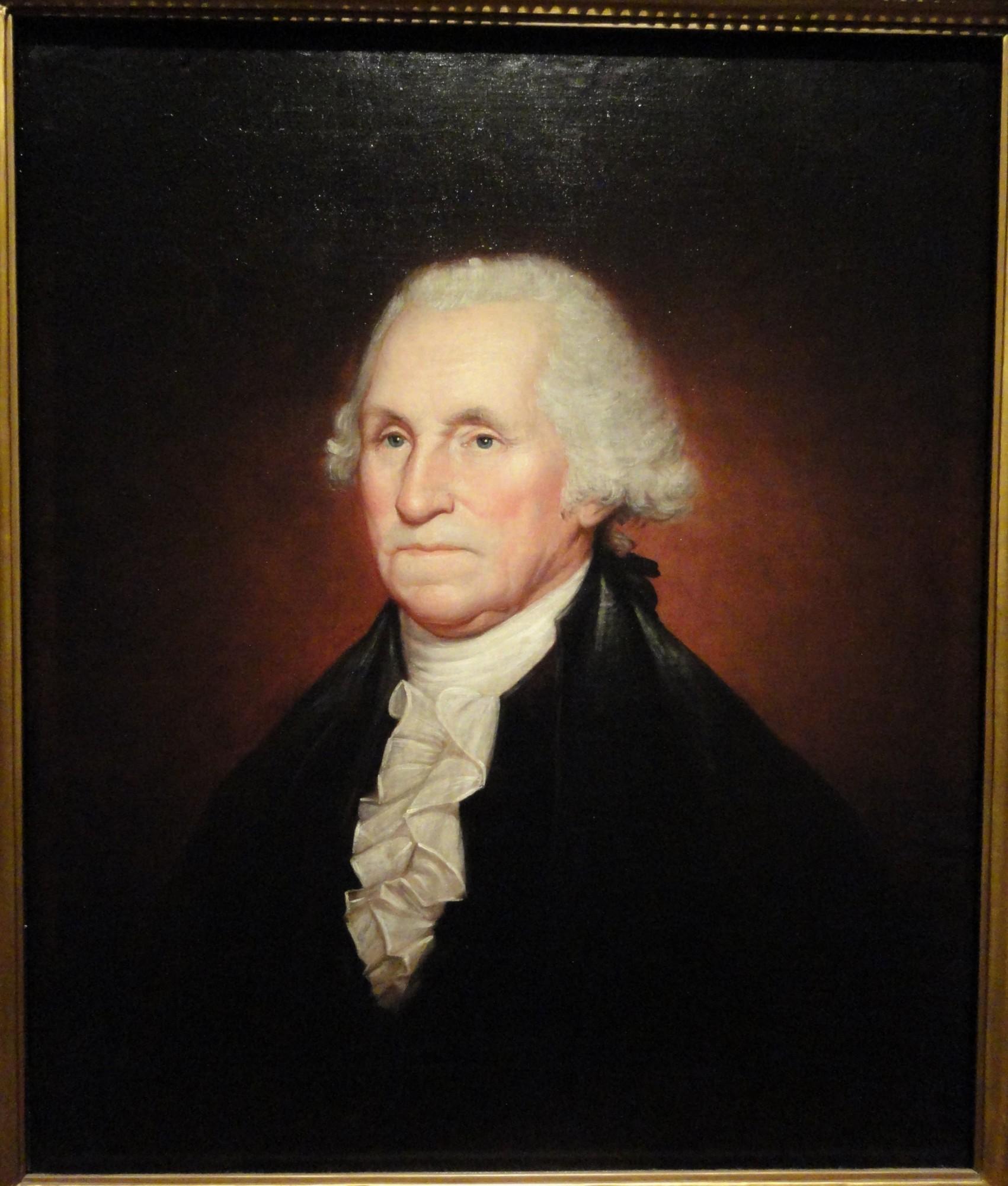 Life Portraits of George Washington · George Washington's ... George Washington