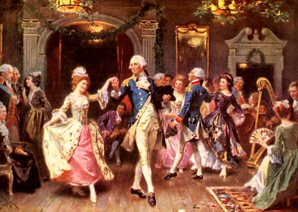 Dancing With General Washington 183 George Washington S