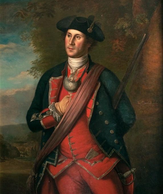 biography of george washington · george washington s mount vernon the virginia colonel by charles volkmar 1874 after charles willson peale mount vernon ladies association journal of maj george washington