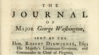 Journal of Maj. Washington