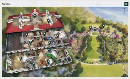 The mount vernon virtual tour george washington 39 s mount for House plans virtual tour