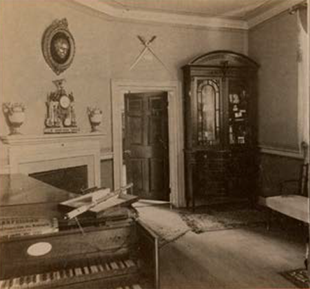The Little Parlor, ca. 1880 by Luke C. Dillon