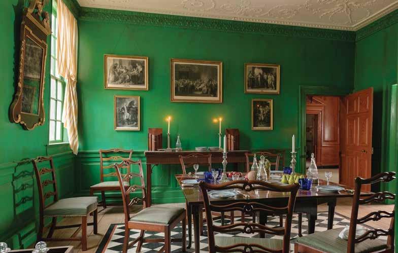Mahogany Dining Tables · George Washington\'s Mount Vernon