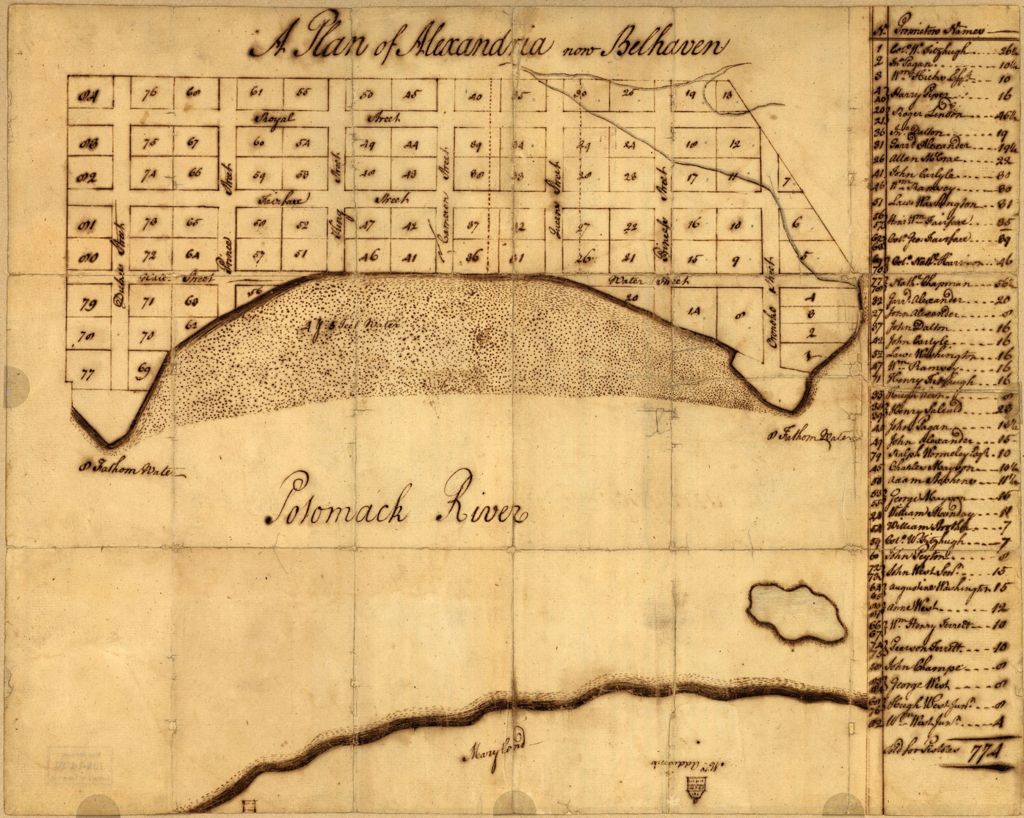 maps george washington u0027s mount vernon