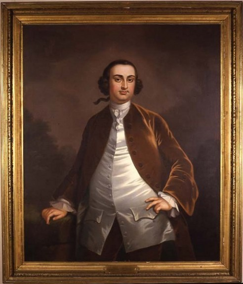 Daniel Parke Custis, John Wollaston, oil on canvas, 1757 [U1918.1.2] Washington-Custis-Lee Collection, University Collection of Art and History, Washington & Lee University, Lexington, Virginia