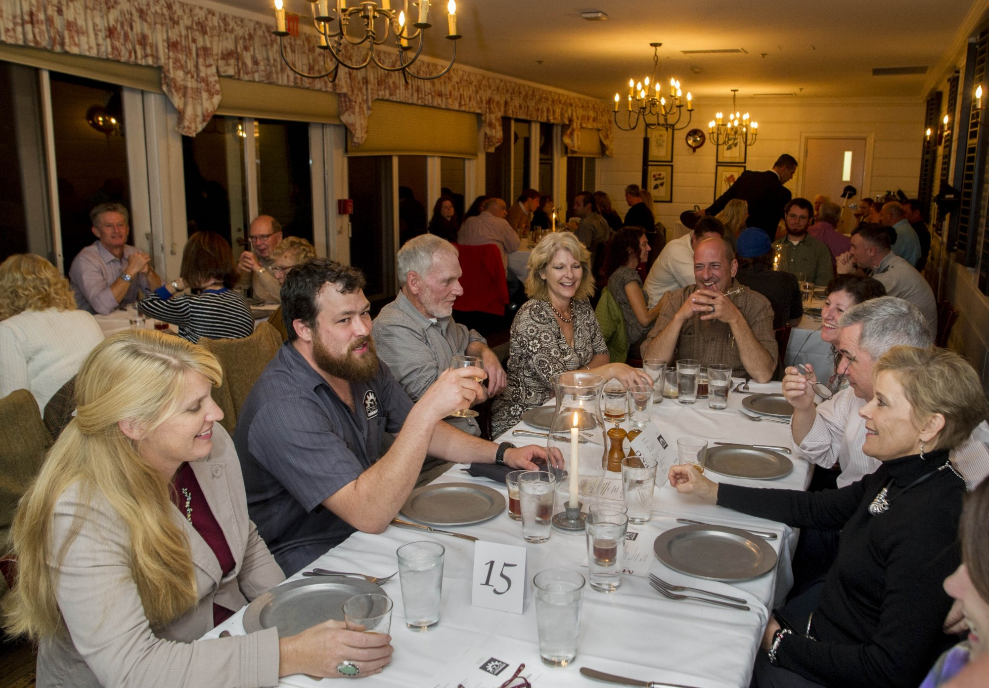 Farm To Table Reception Tour Dinner June
