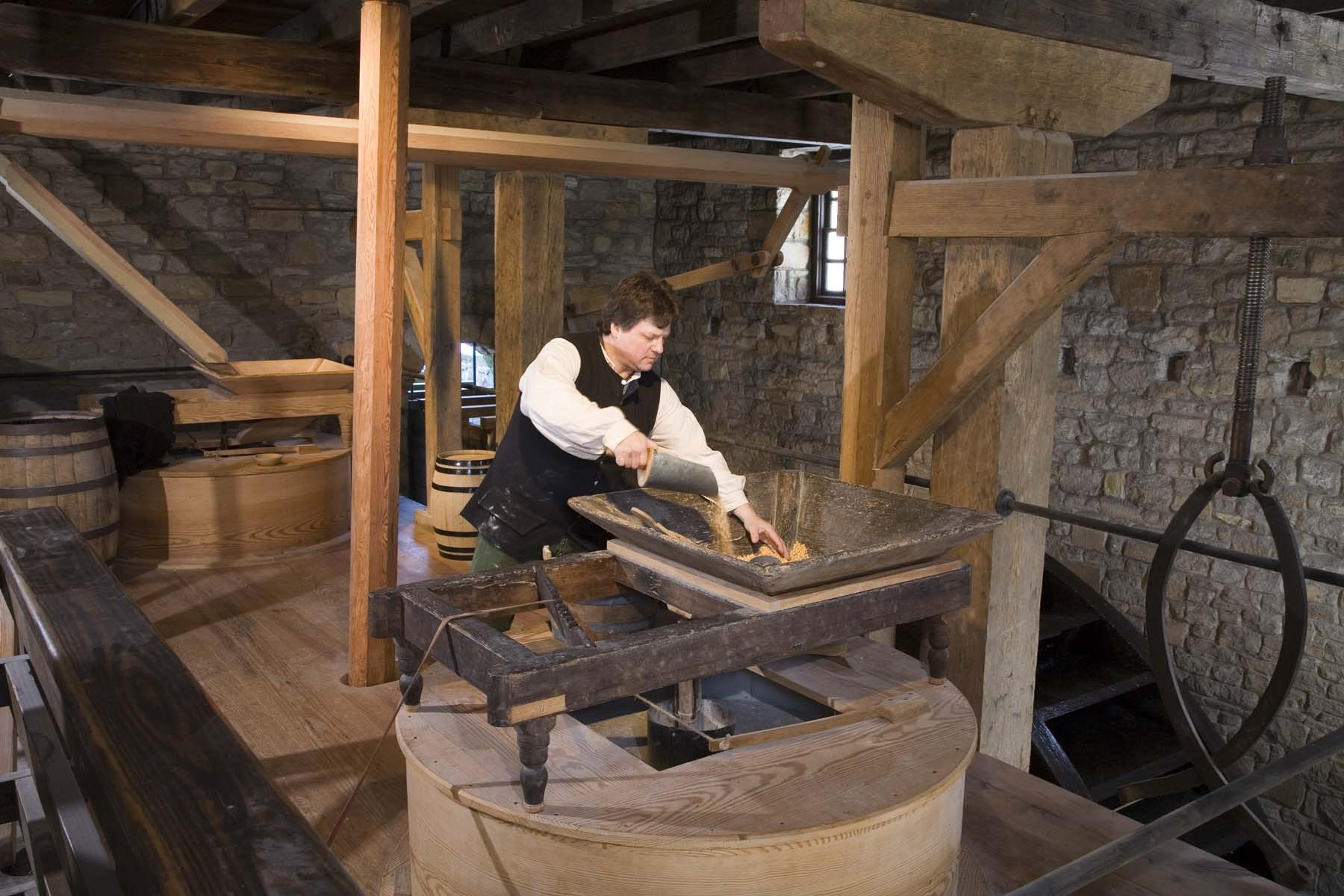 Ten Facts About The Gristmill 183 George Washington S Mount