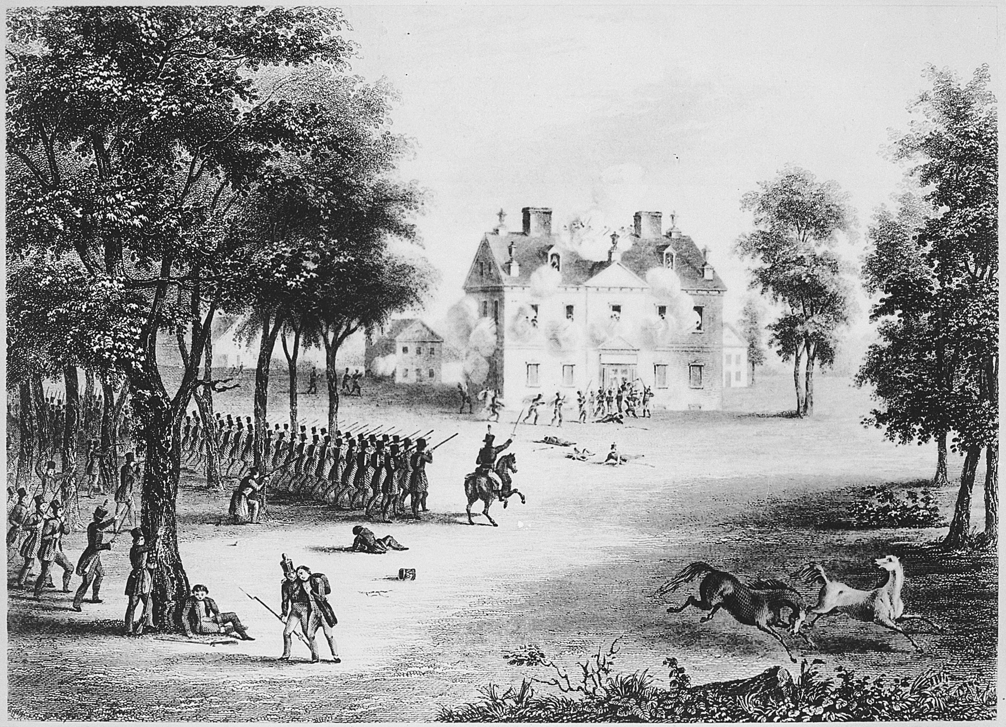 the revolutionary war · george washington s mount vernon the battle of germantown