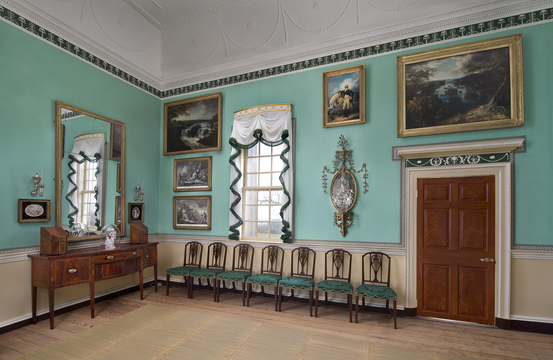 The New Room. What to See   George Washington s Mount Vernon