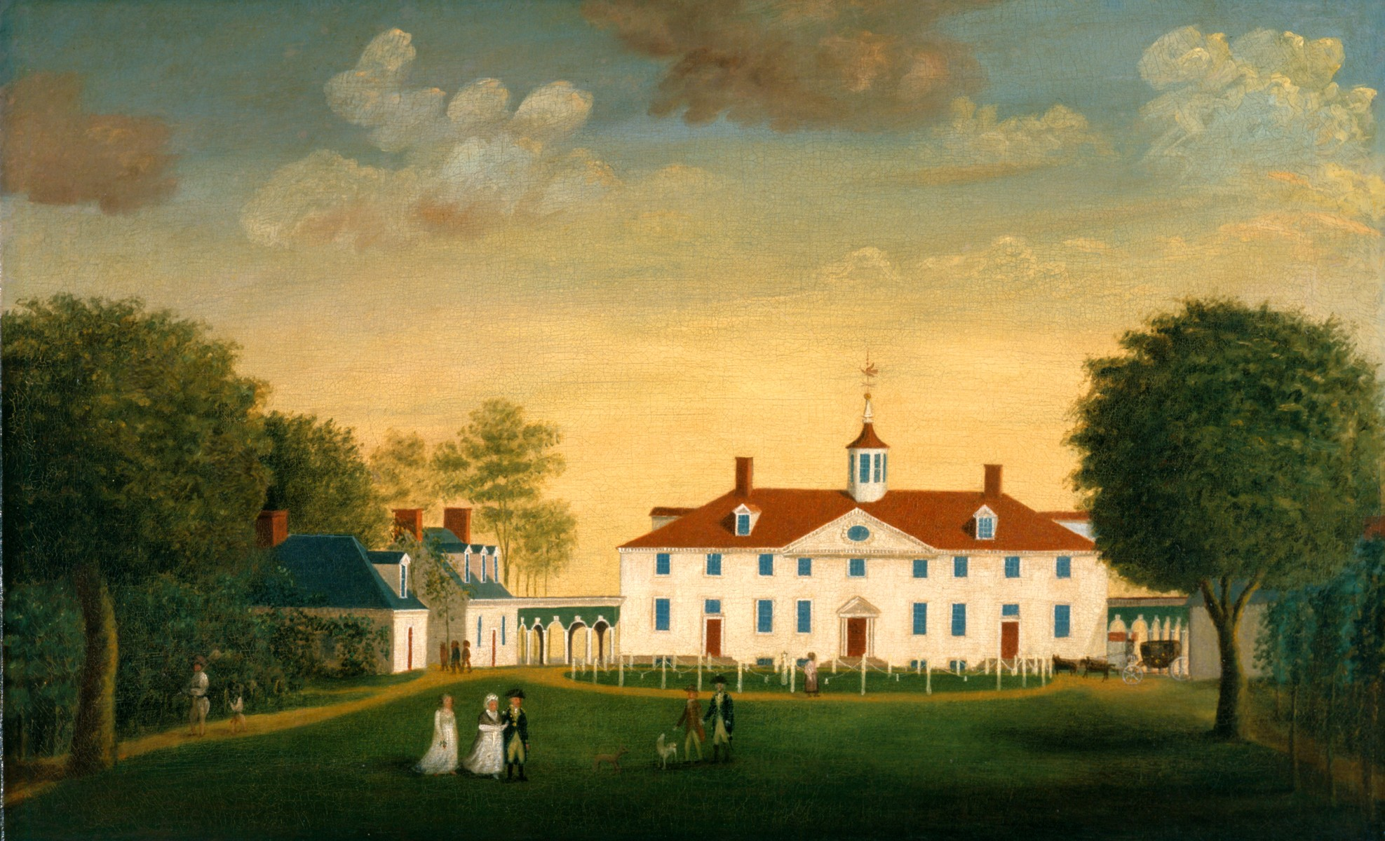 The acts of congress george washington 39 s mount vernon for George washington plantation