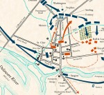 Map: Battle of Trenton