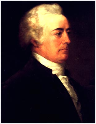 John Rutledge, nominated by George Washington in 1795. Supreme Court Historical Society.