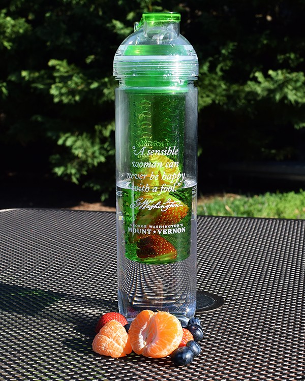 The Sensible Woman Infuser Bottle-- perfect for delicious fresh fruit flavor on the go!