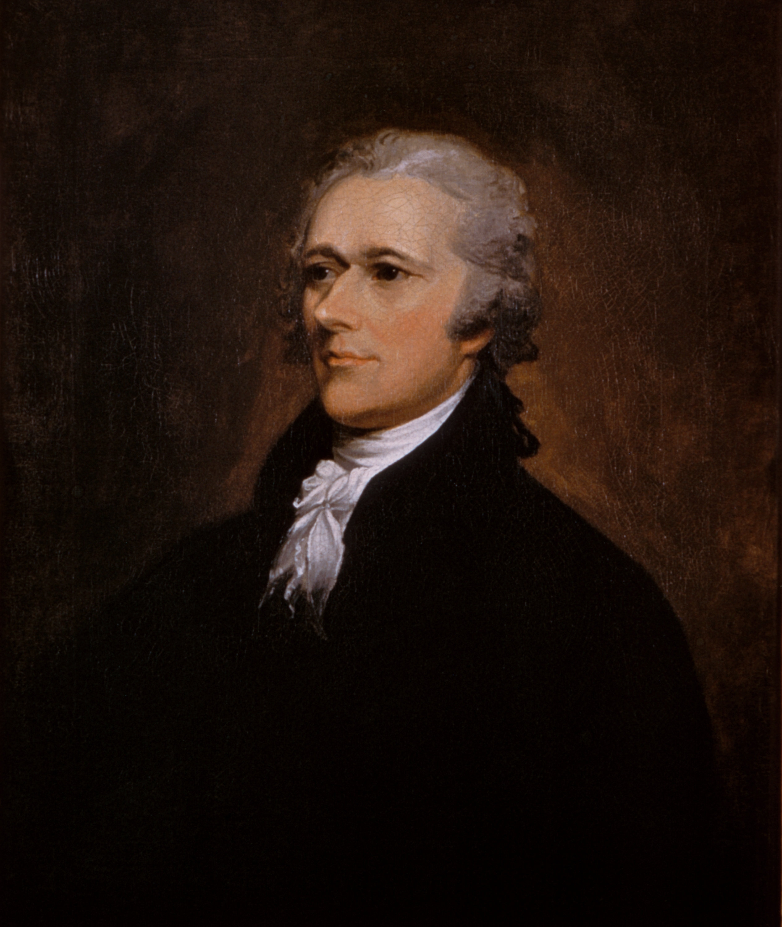 Alexander Hamilton, by John Trumbull, ca. 1806. Andrew W. Mellon Collection [1940.1.8]. Courtesy National Gallery of Art, Washington, D.C.
