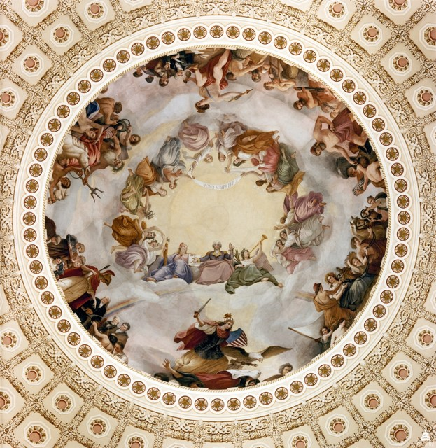Apotheosis of Washington.