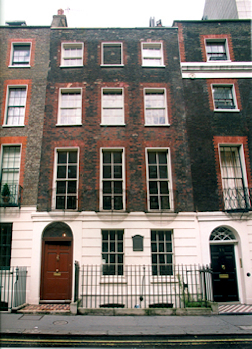 Benjamin Franklin's home in London, now interpreted as a museum and educational center.