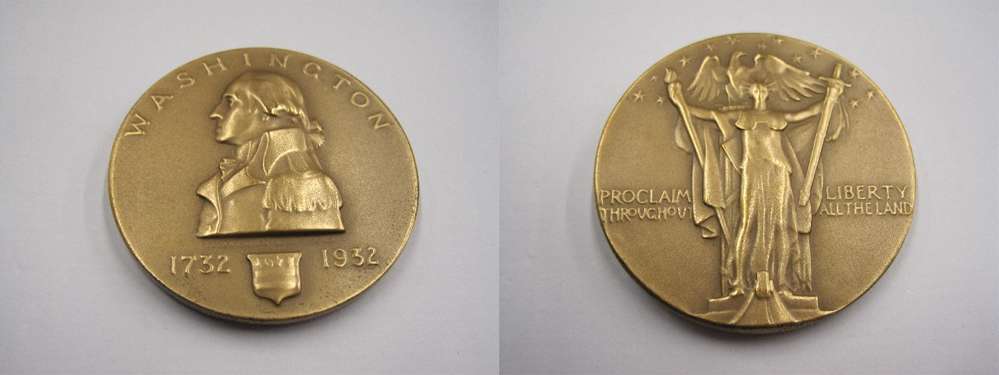Medal from the Bicentennial of George Washington's birth
