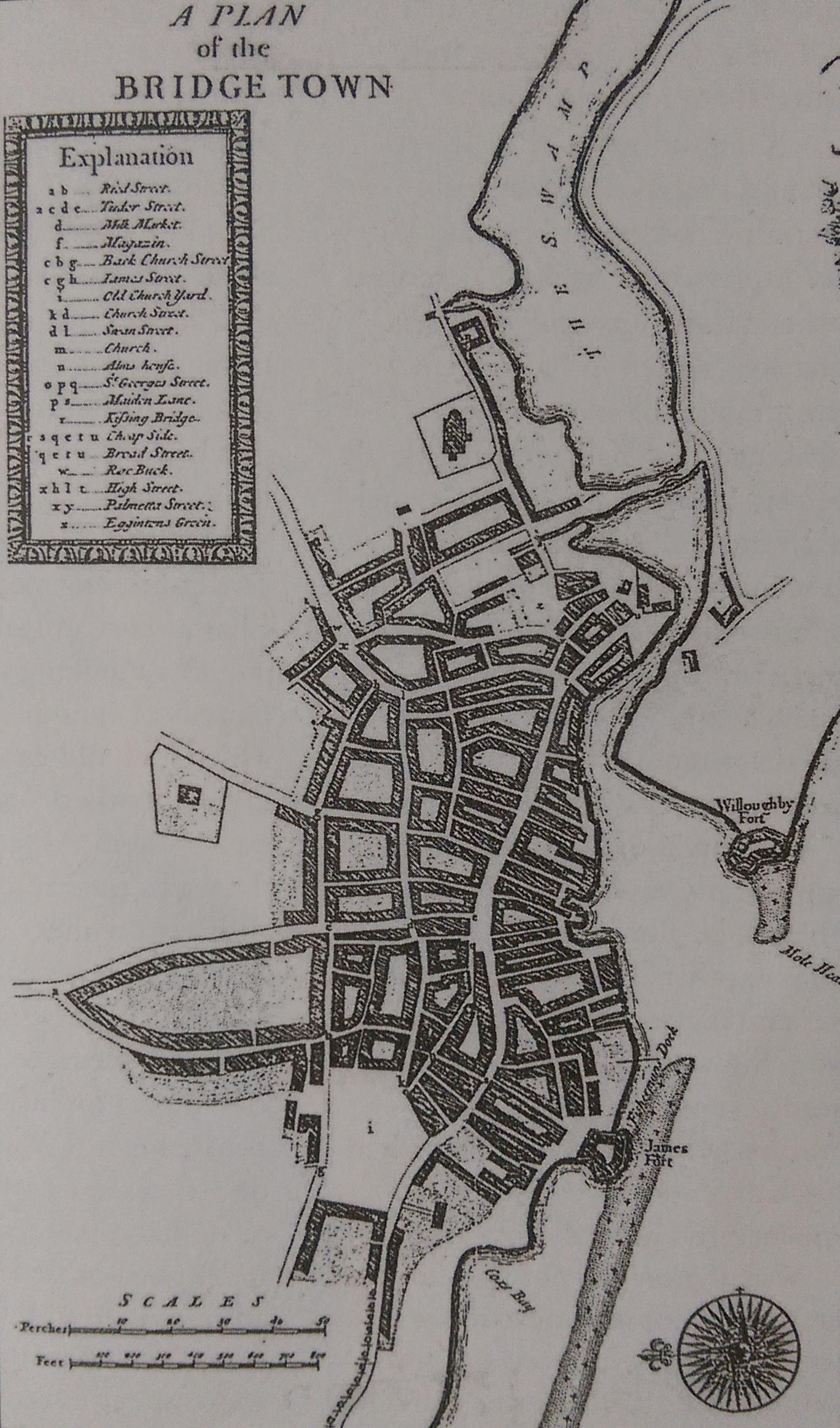 Bridgetown, as George Washington would have known it (Cincinnati Fourteen)