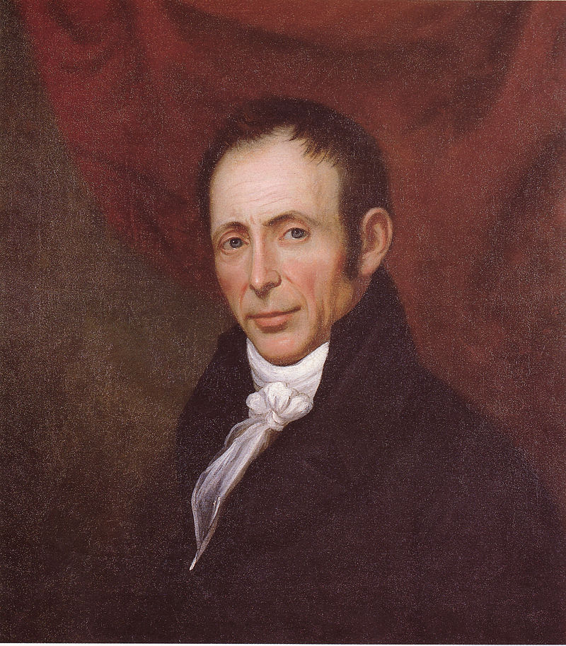 Self-portrait by Charles Peale Polk, c. 1815-1818. Number 1994.113, Virginia Historical Society.