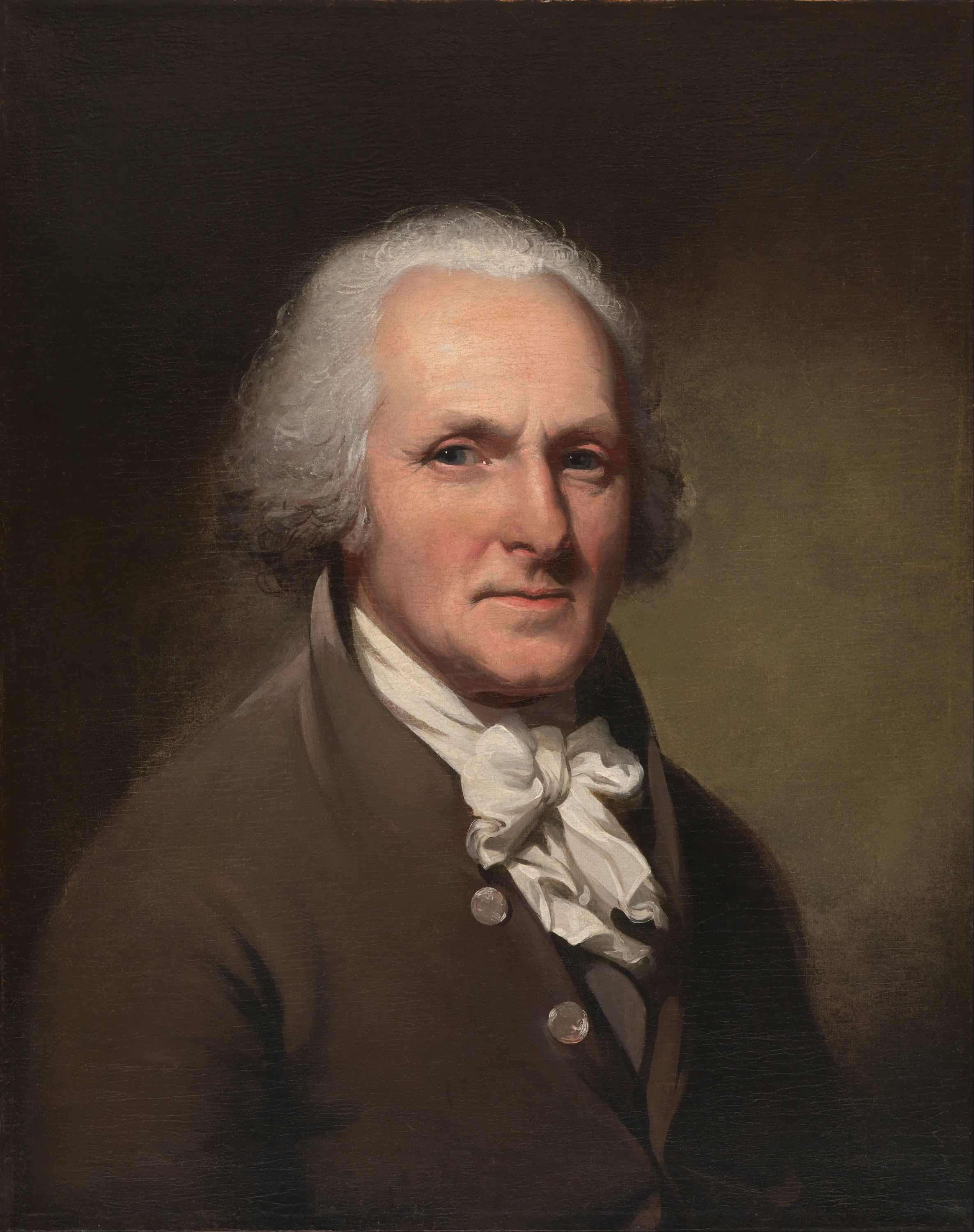 Charles Willson Peale, self portrait c. 1791. Courtesy of the National Portrait Gallery.