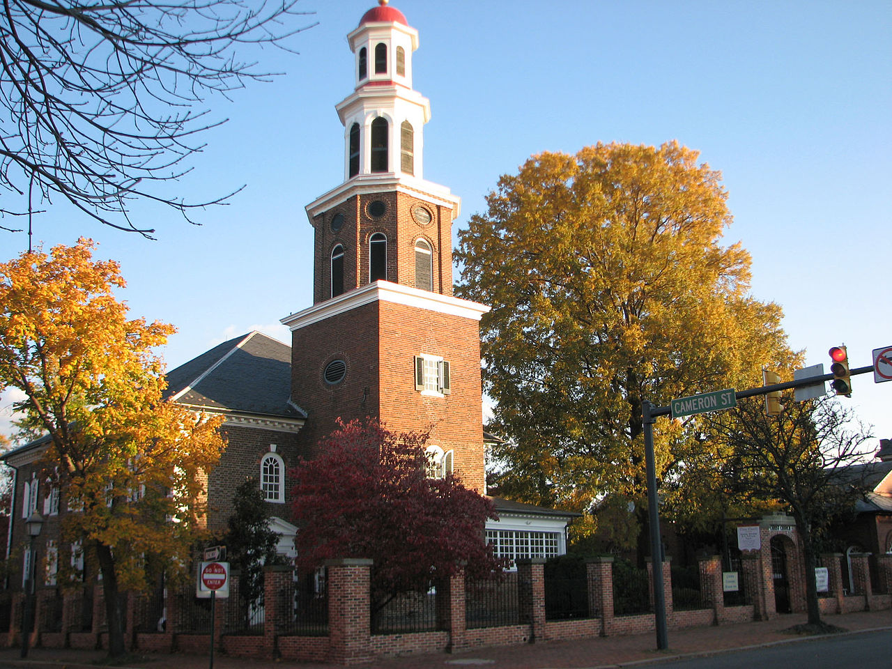 Christ Church in Alexandria, Virginia. Image courtesy Wikimedia Commons.