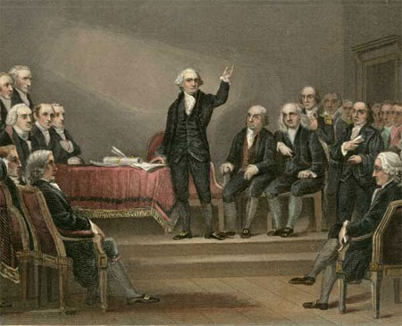 a history of the constitutional convention in philadelphia When the delegates to the philadelphia convention convened in may of representation at the 1787 convention debates during the constitutional convention.